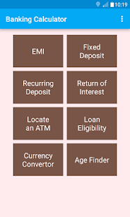 Banking Calculator screenshot