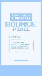 Super Angry Pixel Bounce- screenshot thumbnail