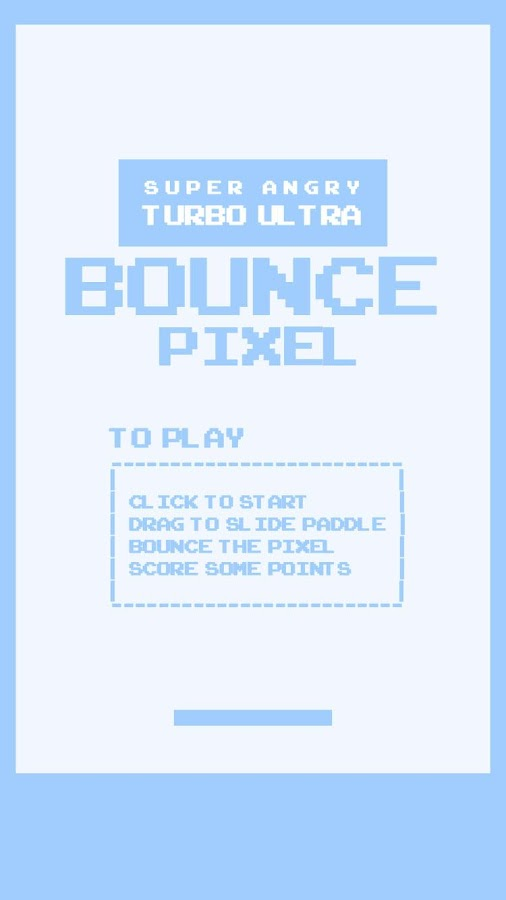 Super Angry Pixel Bounce- screenshot