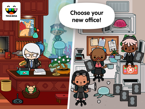 Screenshot for Toca Life: Office in Azerbaijan Play Store