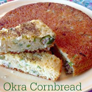 Okra Corn Bread