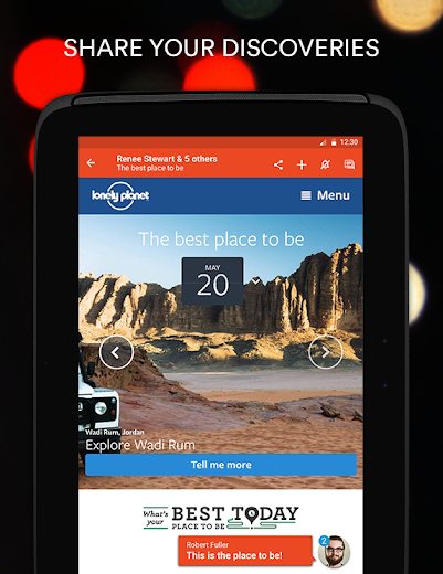 Screenshot 8 for StumbleUpon's Android app'