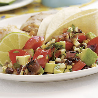 Tomato, Avocado, Corn & Black Bean Salad