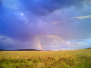 Photo: Rainbow after storm