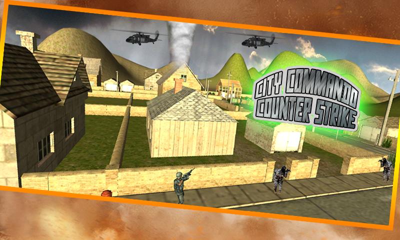 android City Commando Counter Strike Screenshot 0