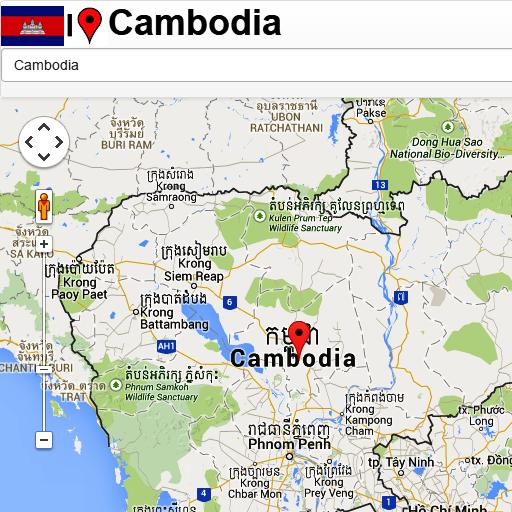 Cambodia mapas
