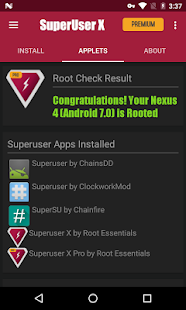 Superuser X Pro [Root] - 50% OFF Screenshot