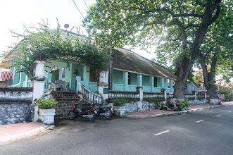 Photo: a typical French colonial house (roof is not of original tiles)