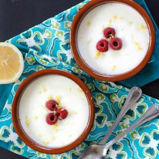 Crema de Limon (Creamy Lemon Dessert).
