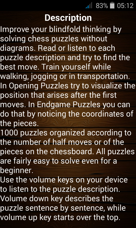 Blindfold Chess Training Android Apps On Google Play