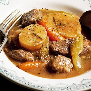 Irish Style Lamb Stew.