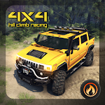 4x4 Car Hill Climb Racing Icon