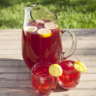 Ruby Red Tea.