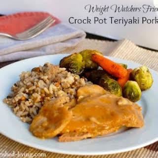 Easy Crock Pot Teriyaki Pork Roast.