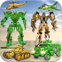 US Army Robot War Multi Robot Transform Games icon