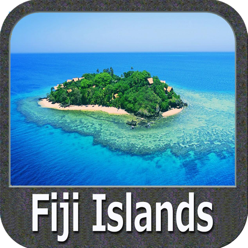 Fiji Islands GPS Map Navigator