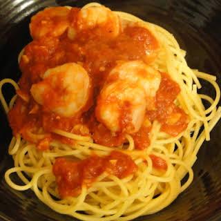 Shrimp with Marinara.