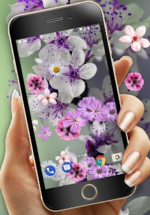 Flower Parallax Live Wallpaper - náhled