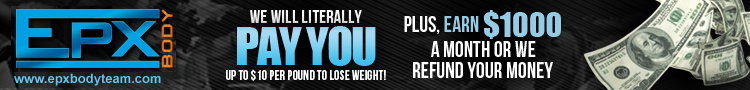 Photo: EPX Body Free Team Banner - Get Paid to Lose Weight