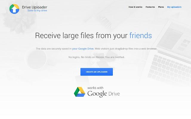 Drive Uploader - G Suite Marketplace