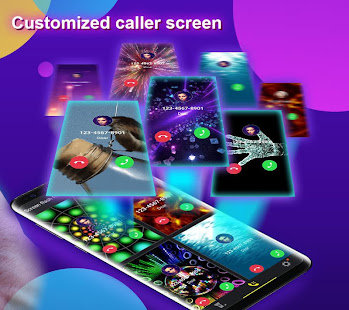 Phone Color Screen - Colorful Call Flash Themes poster
