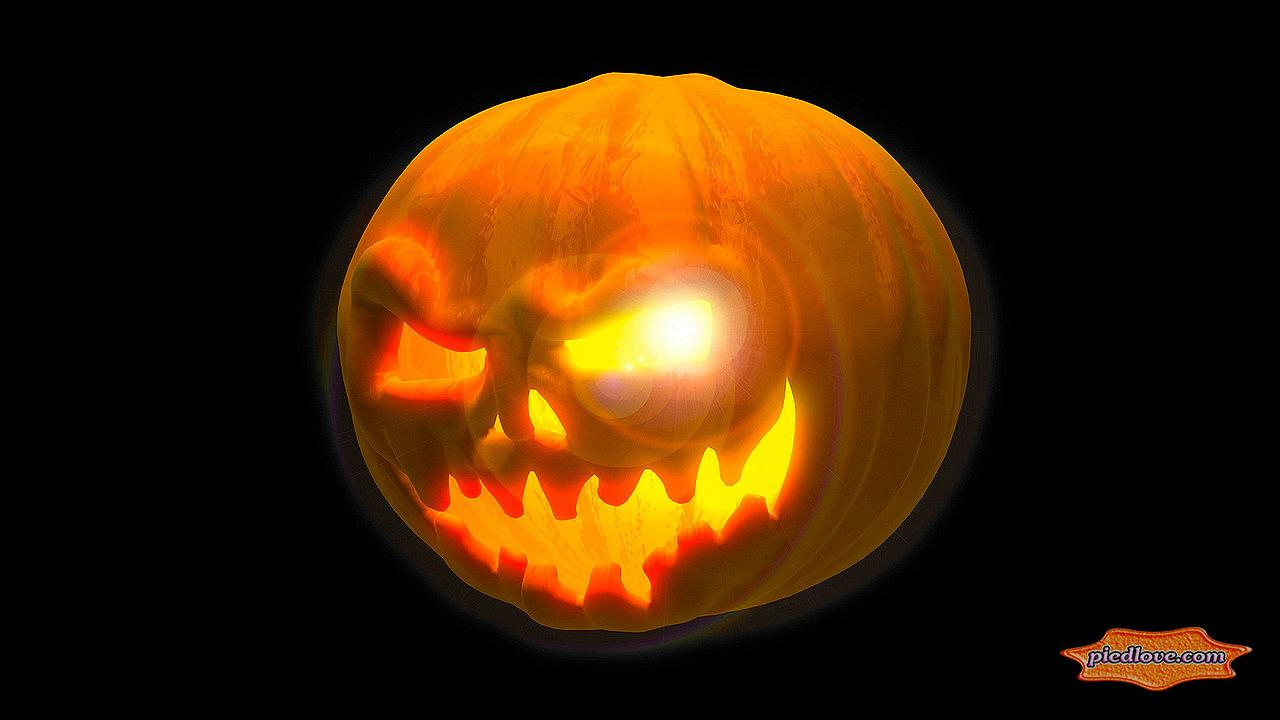 Mysterious Scary 3D Pumpkin- screenshot