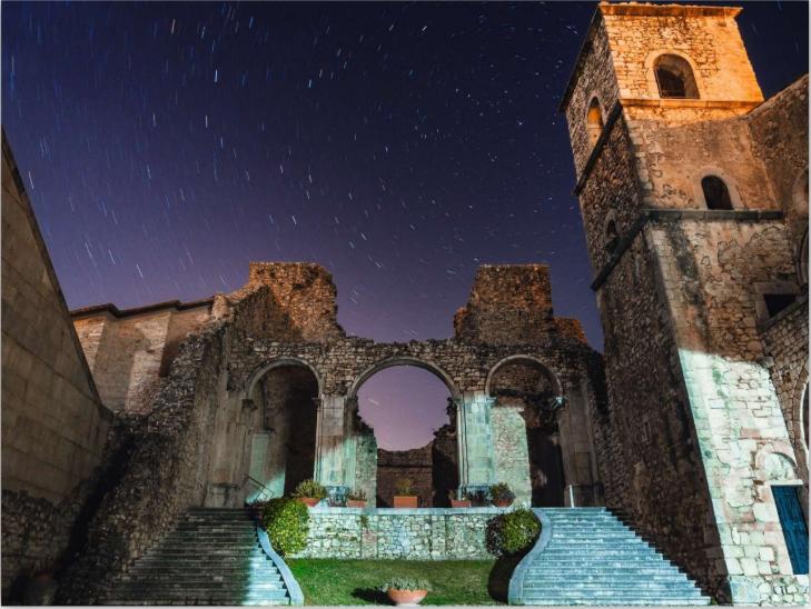 abbazia del goleto in sant'angelo dei lombardi in irpinia, avellino