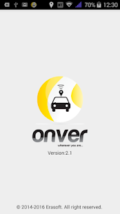 Onver Smart Taxi Screenshot