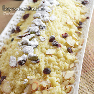 Sweet Couscous- an Easy Dessert Recipe
