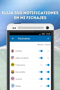 Fichajes fútbol screenshot 2