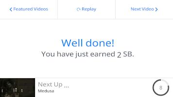 Screenshot of Swagbucks TV Mobile