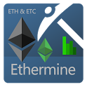 Ethermine Pool Stats Monitor icon