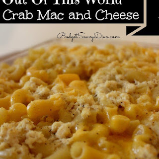 Out of This World Crab Mac and Cheese