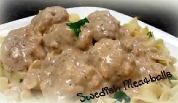 ~ Swedish Meatballs ~ Recipe