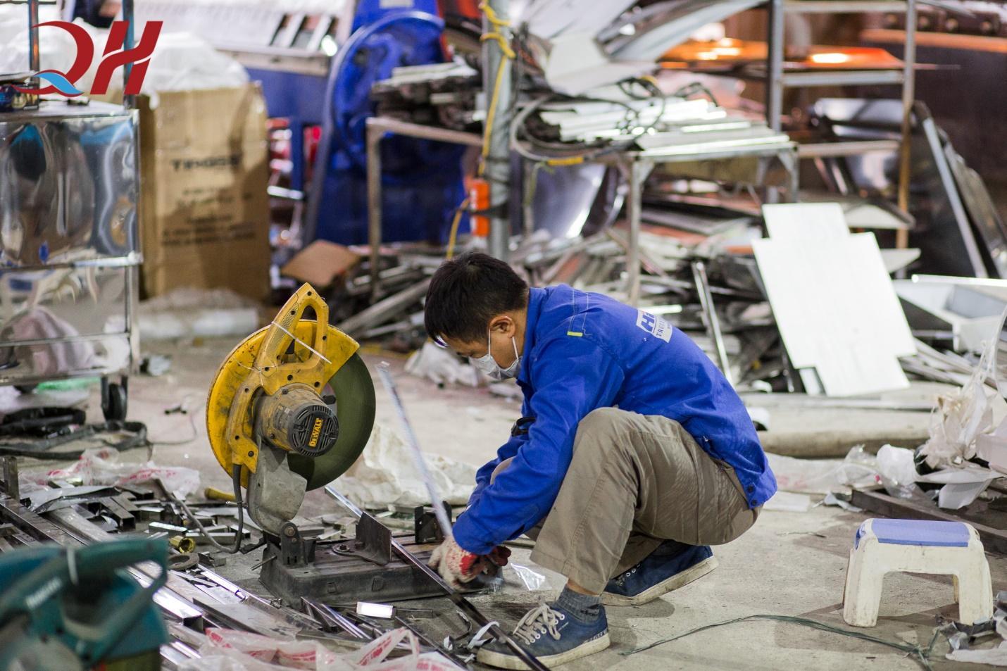 Xưởng cơ khí gia công Quang Huy