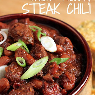 Thick & Hearty Steak Chili.
