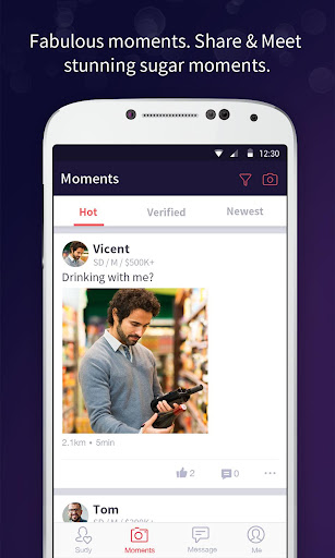 Sugar Daddy Dating App - Sudy 3.9.1 screenshots 4
