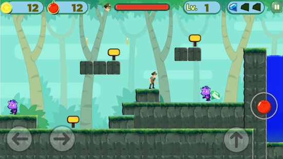 Duke Super Dashington Adventure Game Screenshot