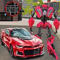 Robot Car Game - Robot Transforming Games icon