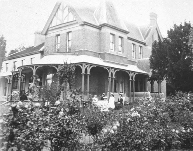 Heritage listed Bishopscourt residence, Hobart c.1836