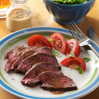 Mustard-Beer Marinated Steak Recipe