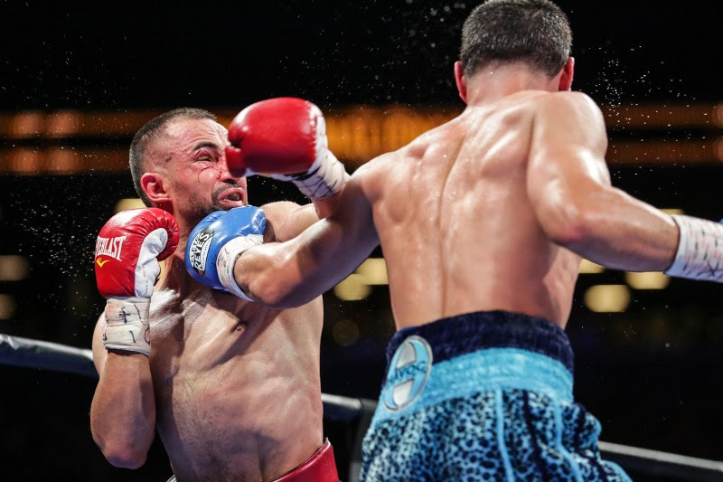 Malignaggi 'probably won't fight again' following Garcia loss; Jacobs stops injured Mora