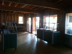 Photo: Back Room of the Dining Hall.