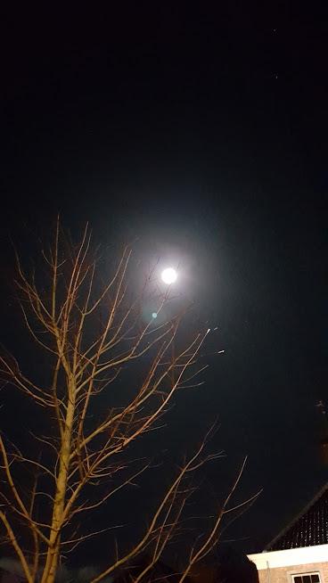 volle maan boven het tongerlohuys
