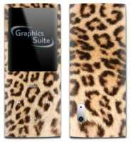 Leopard Print Skin For Apple Ipod Nano 5th Generation
