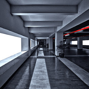 a tunnel to remember 2 by Erwan Photochrome - Buildings & Architecture Other Interior