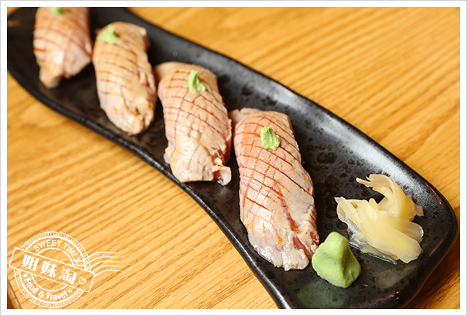 大手町日本料理炙燒黑鮪魚腹握壽司2