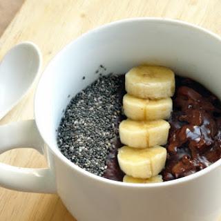 Healthy Double Chocolate Chia Banana Oatmeal Recipe