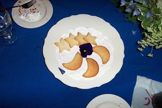 Photo: moon & star cookies!