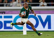 Makazole Mapimpi is the first Springboks player in the history of Springboks to score a try in a Rugby World Cup final.